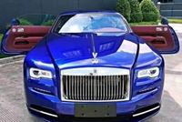 上海一富二代花573万买辆劳斯莱斯魅影,宣称和王思聪私驾同款!
