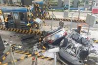 车撞成两截就是安全性差?你想的太简单了,不信看这起车祸!
