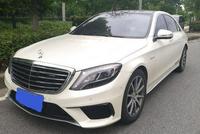 同样开奔驰S63,然上海这位车主却羡慕安徽这位车主:车牌明显了