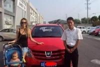 为国争光,俄罗斯美女辣妈买长安,夸中国车不输合资车,国产崛起