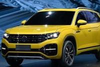 新款中级SUVTayron,中文或命名为探荣,外观小一号途锐