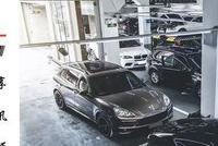 深圳车族案例-宝马X6M套件上身案例
