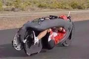 跑的比汽车都快的自行车,时速达到144公里,你敢尝试吗?