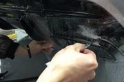 奔驰AMG-CLA45、难度细节图,热爆整个贴膜圈