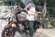 实拍: 农民锯掉百年大树做了辆摩托车, 富豪出价150万