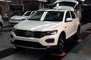国产首辆一汽大众小型SUV T-ROC正式下线,本田缤智XRV要慌了