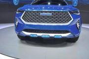 长城将出一款蓝标车 配四根排气管 溜背式车身 隐藏式门把手