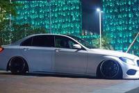 奔驰W205新款C级改装气动悬挂避震