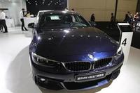宝马新BMW 4系,50万级别双门轿跑车,车展实拍!