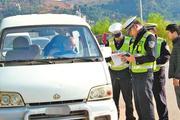山东一男子开着面包车出去买菜, 被罚200元交警看到人却撤销罚款