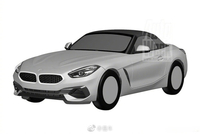 全新宝马Z4专利图曝光,2018年巴黎车展中正式发布,新车搭载2.0T或3