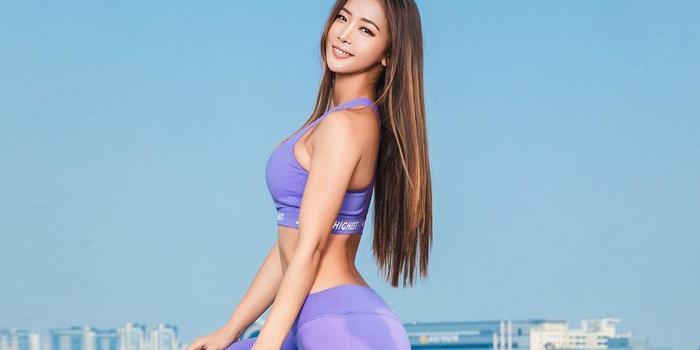 妖娆的女汉子!韩国健身女教练SURAN散发熟女气息