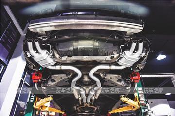 可静可动 奔驰S400 coupe 升级中尾段阀门排气