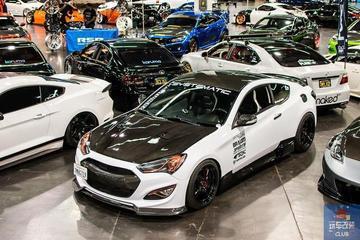 """一辆""""内外碳纤维包裹""""的现代Hyundai Genesis!"""