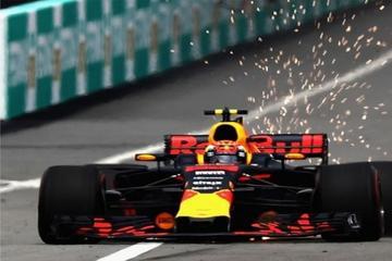 红牛F1赛车:一组赛车图,方程式赛车外形夺目,艳丽夺目