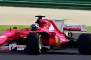 法拉利赛车:超出想象,F1赛车气场十足,经典赛车