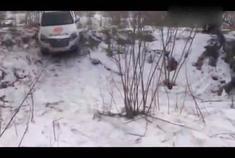 新款长城H3雪地越野撒欢,四驱看起来不错哦