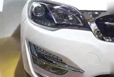 耳目一新 车展实拍众泰全新SUV大迈X5