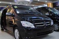 新款奔驰威霆7座商务车,现在MPV被国人广泛应用