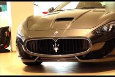 玛莎拉蒂GranCabrio 成功人士的必购跑车