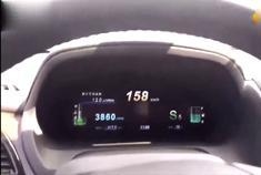 比亚迪s7高速加速到190码,方向盘难道比奥迪还稳定!