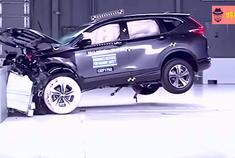 别克昂科威、本田CRV、起亚索兰托碰撞安全测试,谁优谁劣