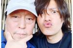 陈坤和倪大红晒合影,称想蹭父皇表情,搞怪热度亮眼上瘾网剧车戏图片