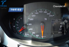 雪佛兰爱唯欧 百公里加速与刹车测试