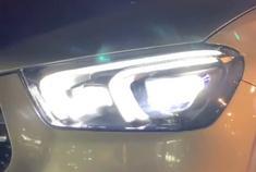 全新奔驰GLE级,坐进驾驶室就知道奔驰的科技感有多强!