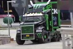 鬼爪福特嘉年华RC拉力赛车和运输卡车,仿真度真高