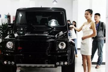 中国仅有一台的巴博斯大G,售价758万,定制级赛道轮胎