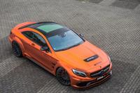 Fostla.de改装橙色奔驰AMG S63