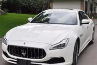 女老板164万买辆玛莎拉蒂总裁,大伙看到新车后却是一言不发