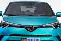 实拍丰田C-HR——颜控青年的首选,这台小SUV够潮!