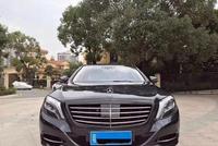 2016年奔驰S500 行政四座 黑色米内 德版