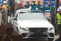 2018北京车展探馆:新款奔驰C级抢先看!