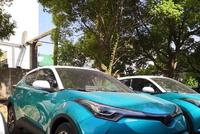 国产丰田C-HR已到店,双色车身颜值完胜缤智,销售说大约14万起