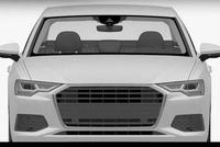 全新一代奥迪A6L造型曝光,更加扁平更加修长
