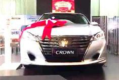 全新第十五代丰田皇冠到店实拍 如果引进国内亚洲龙就会哑火了吗?