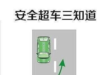 安全超车 三招记牢