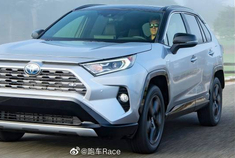 2019年丰田RAV4 XSE HV -更专注于SUV外观