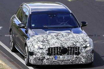 对标奥迪RS6,奔驰AMG E63旅行谍照曝光,预计2020年发布