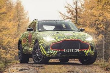 阿斯顿·马丁首款SUV车型即将亮相,名为DBX