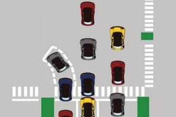 左转待转让无数车主都懵了,到底怎么走才不算闯红灯?!