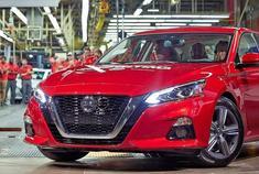2019日产Altima生产线-美国汽车厂