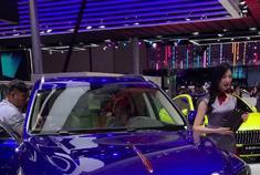 上海车展实拍红旗H7S,红旗终于有SUV了,尺寸很大,样子很霸气!