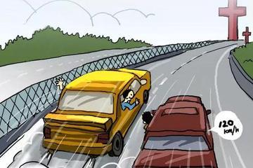 十次车祸九次快,超速就是按下了生命的快进键!
