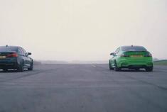 BMW M5 CompM3 Comp性能测试