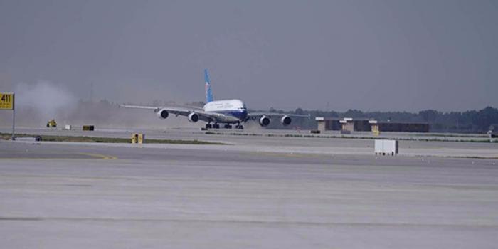4架试飞大型客机落地 大兴国际机场迎来首批民航客机