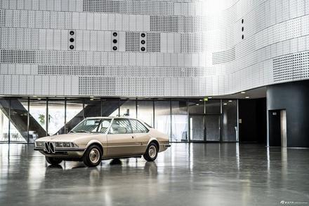 宝马Garmisch概念车官图 颇具特色的复古美